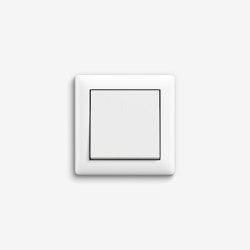 Standard 55 | Switch Pure white matt | Push-button switches | Gira