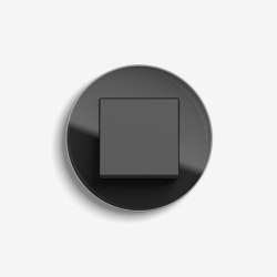 Studio | Switch Glass black | Push-button switches | Gira