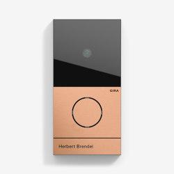 Door Communication | System 106 | Bronze (pvd) | Door bells | Gira
