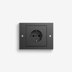 TX_44 | Anthracite | Schuko sockets | Gira
