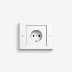TX_44 | Pure white | Schuko sockets | Gira