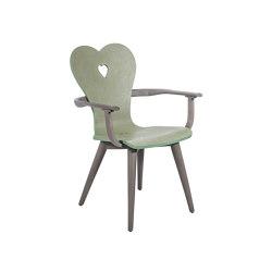 Alpenblick | Armchair Alpenblick Oldgrey/Blue-Green | Chairs | MBM