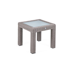 Bellini | End Table Bellini Koala 50X50 With Glass Top | Side tables | MBM
