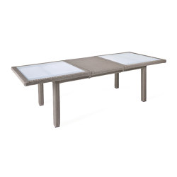Bellini | Extension Table Bellini Koala 100X180/240 With Glass Top | Dining tables | MBM