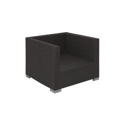 Bellini | Loungechair Bellini Mocca | Armchairs | MBM