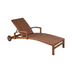 Bellini | Lounger Bellini Tobacco | Sun loungers | MBM