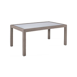 Bellini | Table Bellini Koala 90X160 With Glass Top | Dining tables | MBM