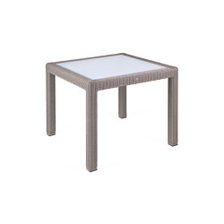 Bellini | Table Bellini Koala 90X90 With Glass Top | Dining tables | MBM
