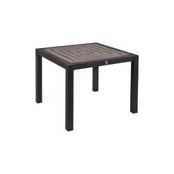Bellini | Table Bellini Mocca 90X90 With Resysta Top Siam | Dining tables | MBM