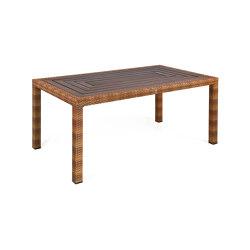 Bellini | Table Bellini Tobacco 90X160 Resystaplatte Siam | Dining tables | MBM