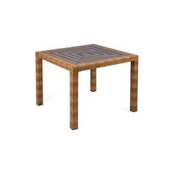 Bellini | Table Bellini Tobacco 90X90 Resysta Siam | Dining tables | MBM