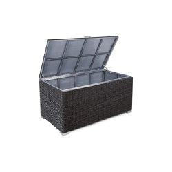 Bellini Twist | Cushion Box Bellini Twist Big Black | Chests | MBM