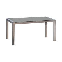Kennedy | Table Kennedy Edelstahl Stone Grey 215X90 | Dining tables | MBM