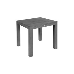 La Villa | Table La Villa Postleg 100X100 Stone Grey | Dining tables | MBM