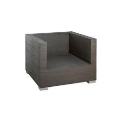 Long Island   Loungechair Long Island Stone Grey   Armchairs   MBM