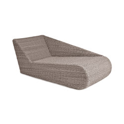 Madrigal | Relax Lounge Twist Oyster Right | Chaise longues | MBM