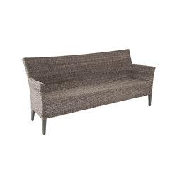Madrigal Twist | Bank Madrigal 3-Seater Twist Oyster / Stone Grey | Sitzbänke | MBM