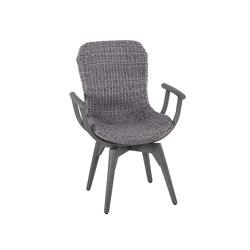Orlando Iconic   Arm Chair Orlando Twist Oyster Stone Grey   Chairs   MBM