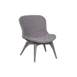 Orlando Iconic   Loungechair Orlando Twist Oyster Stone Grey   Armchairs   MBM