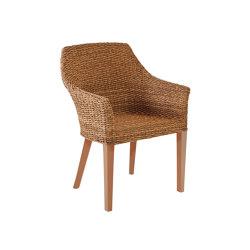 Tortuga | Sessel Tortuga Twist Natur/Borneo | Chairs | MBM