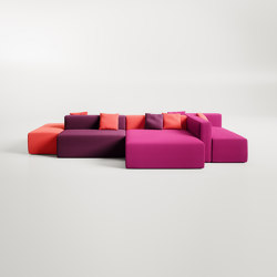 Link | Seating islands | Fantoni