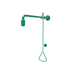 Emergency shower activated by a pull-rod | Shower controls | Franke Water Systems