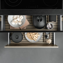 Interior | Java Oak | Kitchen organization | SieMatic