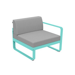 Bellevie | Lounge 1-Seater Right Module | Poltrone | FERMOB