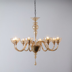 Color Chandelier 8 Lights | Chandeliers | Cangini e Tucci