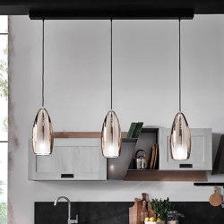 Flute Suspension Lamp | Lámparas de suspensión | Cangini e Tucci