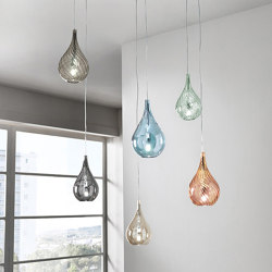Lacrima Mini Suspension Lamp | Suspended lights | Cangini e Tucci