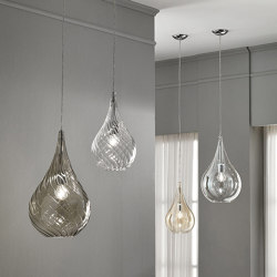 Lacrima Suspension Lamp | Suspended lights | Cangini e Tucci