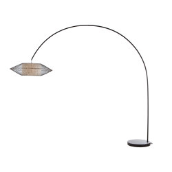 Kai Arc Lamp | Free-standing lights | Kenneth Cobonpue