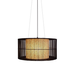 Kai O Hanging Lamp, large | Suspended lights | Kenneth Cobonpue