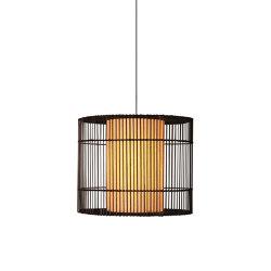Kai O Hanging Lamp, medium | Suspended lights | Kenneth Cobonpue