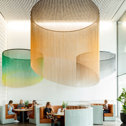Ceilings | Metal meshes | Kriskadecor
