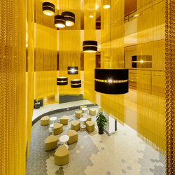 Indoor cladding | Metal meshes | Kriskadecor