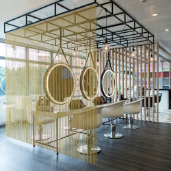 Space dividers | Metal meshes | Kriskadecor