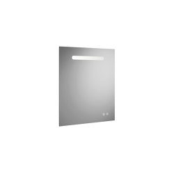 Fiumo | illuminated mirror | Bath mirrors | burgbad