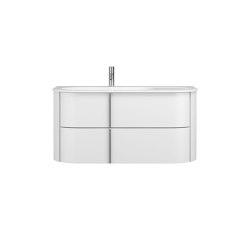 Lavo 2.0 | Mineral cast washbasin incl. vanity unit | Vanity units | burgbad