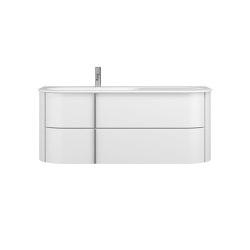 Lavo 2.0   Mineral cast washbasin incl. vanity unit   Vanity units   burgbad