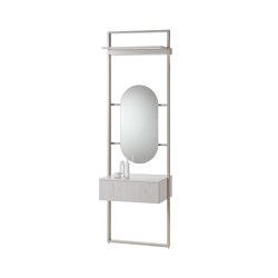 rc40   Aluminium-frame-system   Mensole bagno   burgbad