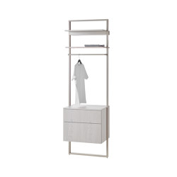 rc40 | Aluminium-frame-system | Bath shelving | burgbad