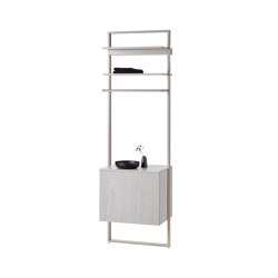 rc40   Aluminium-frame-system   Bath shelving   burgbad
