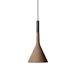Aplomb mini suspension brown | Suspended lights | Foscarini