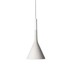 Aplomb Mini suspension blanche | Suspensions | Foscarini
