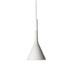 Aplomb Mini suspension white | Suspended lights | Foscarini