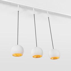 Marbul track suspension 48V | Suspended lights | Modular Lighting Instruments