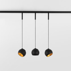 Marbul track suspension adjustable 48V | Suspended lights | Modular Lighting Instruments