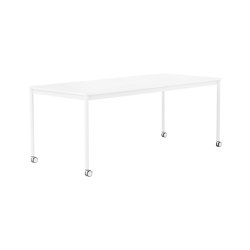 Base Table | With Castors | Mesas comedor | Muuto